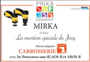 Prix 2017 équipement MIRKA